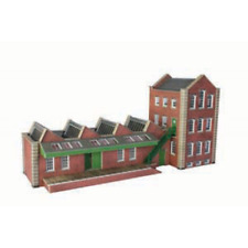 Metcalfe PO283 Small Factory Card Kit OO/HO Gauge