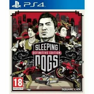 Sleeping Dogs Definitive Edition PS4 Playstation 4 Brand New