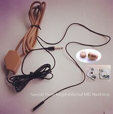 Spy Hidden Mini Wireless Earpiece With Loopset Neckloop New ONLY NECKLOOP