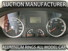 Per Peugeot Boxer II 2006- Anelli Alluminio Strumenti Strumentazione 2 pezzi
