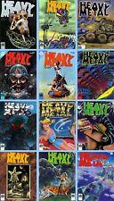 HEAVY METAL MAGAZINE 1979 All 12 Issues VG/FN Trina Robbins *ShipFree w$35 Combo