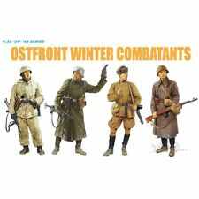 Dragon 6652 Ostfront Winter Combatants 1942-43 1/35 scale plastic model figures
