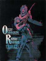 OZZY OSBOURNE / RANDY RHOADS 1987 TRIBUTE TOUR PROGRAM BOOK BOOKLET / NMT 2 MINT