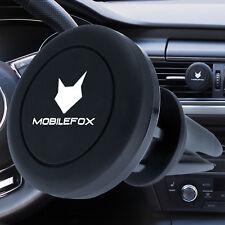 mobilefox Universal 360° Auto Coche Soporte, dispositivo de Soporte móvil IMÁN