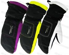 Girls Boys Teenager 3M Thinsulate Insulated Showerproof Ski Gloves 12-18 Years