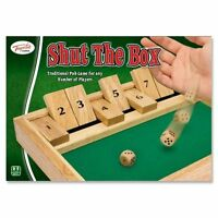 Game ~ Dice Game ~ SHUT THE BOX ~ Traditional Pub Game ~ Any Number of Players