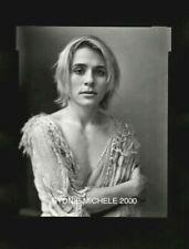 "SENSITIVE FEMALE PHOTO PORTRAIT LG FORMAT 4X5"" DKRM CONTACT PRINT SIGNED ORIG"