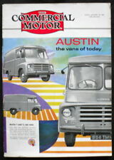 COMMERCIAL MOTOR MAGAZINE 20 JAN 1961 - AUSTIN 1 AND 1½ TON VANS,