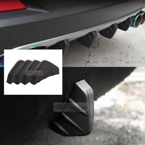 Bumper Diffuser Molding Point Garnish Lip Under Splitter Black For LAMBORGHINI
