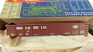 HO Scale Roundhouse Gorre & Daphetid 40' Gondola KIT in Original Box