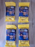 2020-21 Upper Deck NHL Hockey Series 2 LOT OF 4- Sealed Fat Packs - 104 cards.