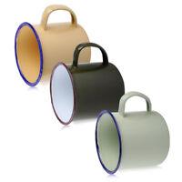 Emaille Becher Mug Metall Tasse Vintage Cup Tee Kaffeebecher Reise Camping 300ml