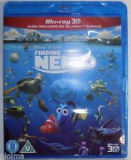 FINDING NEMO 3D (and 2D) Brand New BLU-RAY Region-Free UK Import Disney Pixar