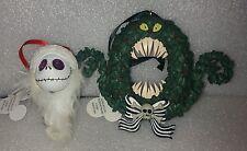 Disney The Nightmare Before Christmas Jack Glow In The Dark Wreath Ornaments