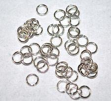 3mm 22G Round Jump Rings .930 Argentium Sterling Silver Jewlery GA Gauge 100pk