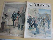 Le petit journal 1900 496 Anglais irascible