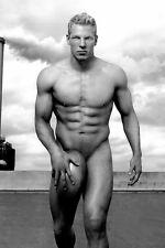 JAMES HASKEL Nude male  sporting PHOTO beefcake Gay interest BUY 2, GET 1 FREE