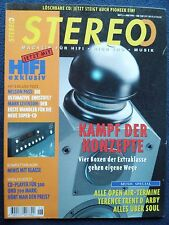 6/95 STEREO Levinson 36, QUAD 77, pass Aleph 1, Dynalab Etude, Sony MDS S 1,d 143