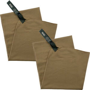 """Gear Aid McNett Tactical 15"""" x 36"""" Cooling Towel 2-Pack - Coyote"""
