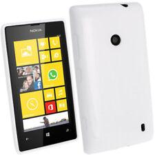 Custodie preformate/Copertine bianco Per Nokia Lumia 520 per cellulari e palmari