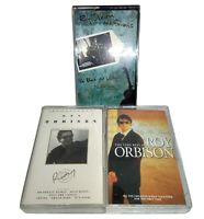 3x ROY ORBISON Audio Cassette Tape Bundle Includes A Black And White Night Live