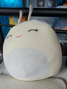 "Squishmallows 12"" White Snail"