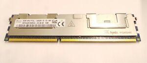 SK Hynix 32GB DDR3-1333 RDIMM PC3L-10600R Quad Rank x4 Module HMT84GR7AMR4A-H9