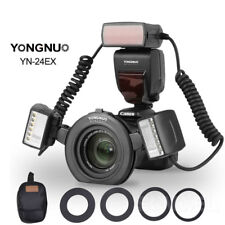 YONGNUO Macro Twin Lite Flash YN-24EX TTL AF Assist Flash Speedlite for Canon