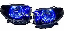 ORACLE Toyota Tundra 2014+ BLUE DUAL LED Headlight Halo Angel Demon Eyes Rings