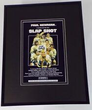 Slap Shot Framed 11x14 Poster Display Paul Newman Hanson Bros Slapshot