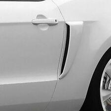 For Ford Mustang 2010-2014 Duraflex Boss Style Fiberglass Side Scoops Unpainted