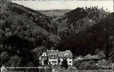 Wopfing Niederösterreich s/w Postkarte ~1950/60 Siemens Erholungsheim im Wald