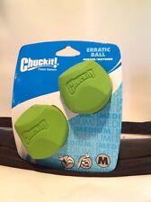 Chuckit Erratic Ball 2- Pack Medium