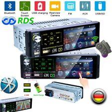 "4.1"" Autoradio 1DIN Radio de coche RDS FM BT Pantalla táctil MP5 AUX IN USB TF"