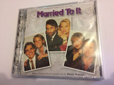 MARRIED TO IT (Henry Mancini) OOP Ltd (1000) Score Soundtrack OST CD SEALED