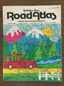 Holiday Inn Road Atlas | US/Canada/Mexico | Vintage 1979 | FREE Postage