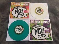 "DJ RITCHIE RUFTONE Practice Yo! Cuts Vinyl 7"" v1&2 and v3 Remixed"