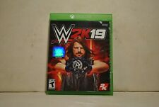 XBOX ONE WWE W2K19 OPEN BOX!!