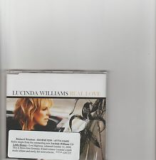 Lucinda Williams-Real Love UK promo cd single.