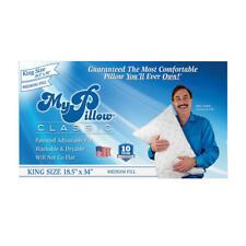 My Pillow Classic Series Bed Pillow MyPillow King-Size Bed Pillow Medium Fill