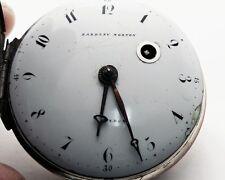 Eardley Norton London Fusee Verge Pocket Watch