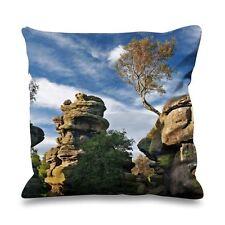Brimham roches north yorkshire fausse soie 45cm x 45cm canapé coussin