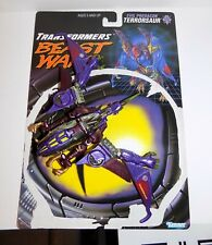 BEAST WARS Transformers TRANSMETA TERRORSAUR LOOSE COMPLETE WITH CARD