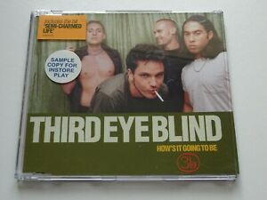 THIRD EYE BLIND - HOW'S IT GOING TO BE - UK CD SINGLE, 1997 - SAMPLE STICKERED