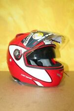 CASQUE Moto Modulable LAZER Paname MK - Rouge Blanc - T : XS