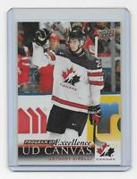 Anthony Cirelli 2018-19 Upper Deck UD Canvas Program of Excellence C258 Canada