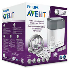 PHILIPS AVENT 4-IN-1 ELECTRIC STEAM STERILISER KIT EFFECTIVE KILLS 99.9% GERMS