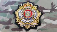 Royal Logistic Corps RLC Blazer Badge, Army, Military, Bullion, Embroidered