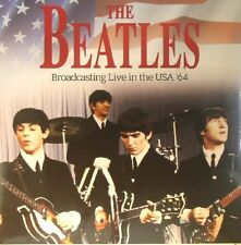 Beatles Broadcasting Live in the USA '64 - NEW SEALED Import LP BLUE vinyl!