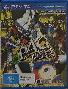 Persona 4 Golden P4G PS Vita AUS